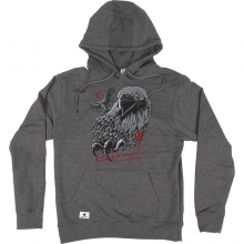 RDS Night Eagle Hoodie, Charcoal