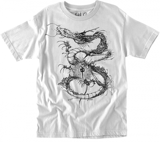 RDS Scent Dragon Tee, White