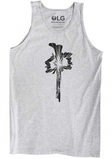 RDS Shattered Tank, Athletic Grey