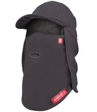 Airhole 5 Panel Tech Hat 3 Layer Charcoal