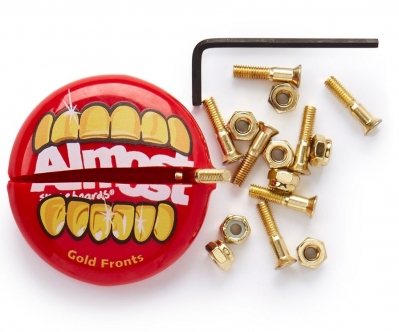 Almost Gold Nuts & Bolts in Your Mouth Allen Hardware