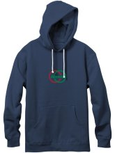 Almost Ivy League Classic Embroidery Hoodie, Navy