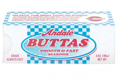 Andale ABEC Buttas Bearings, White