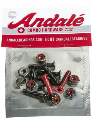 """Andale Combo Allen & Phillips Hardware Red 7/8"""""""