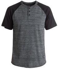 DC Shoes Enderlin Henley, Charcoal Heather