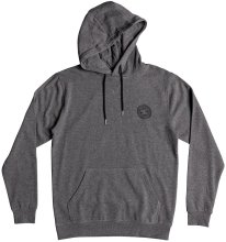 DC Shoes Rebel Hoodie, Charcoal Heather