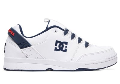 DC Shoes Syntax Shoe, White Navy