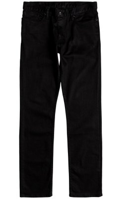DC Shoes Worker Straight Fit Jeans, Black Rinse
