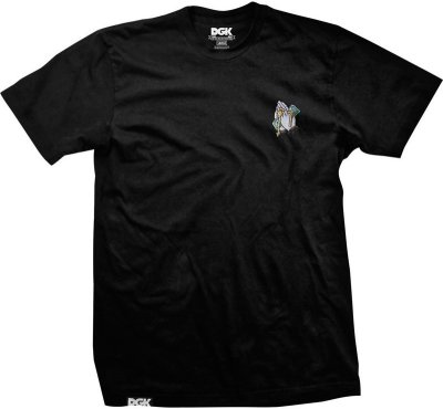 DGK Blessed Embroidered Tee, Black