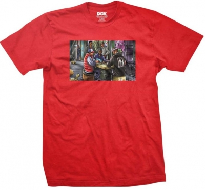 DGK Our Block Tee, Red