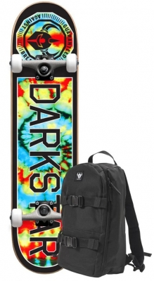 Darkstar Timeworks Tie Dye Complete with Backpack 7.75