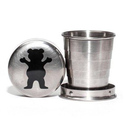 Grizzly OG Bear Collapsible Shot Glass