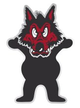 Grizzly Wolfpack Bear Sticker