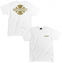 Independent Baseplate Tee, White Gold
