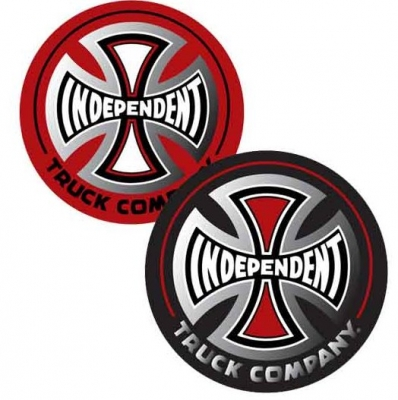 Independent Truck Co 3in Sticker, Assorted Black or Red