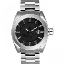 LRG Force Watch, Silver/Black/Silver