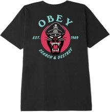 OBEY Battle Panther Tee, Black