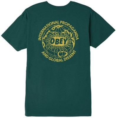 OBEY Global Dissent Tee, Pine