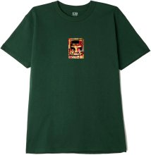 OBEY Icon Face Collage Tee, Forest Green