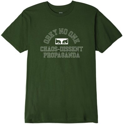 OBEY No One Eyes Tee, Forest Green