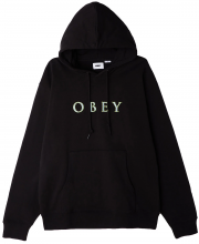 OBEY Nouvelle IV Pullover Hoodie, Black
