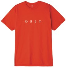 OBEY Novel Tee, Red