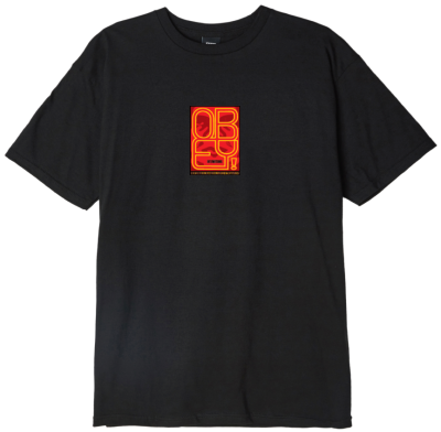 OBEY Type Icon Face Tee, Black