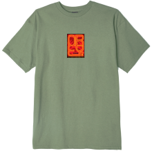 OBEY Type Icon Face Tee, Sage