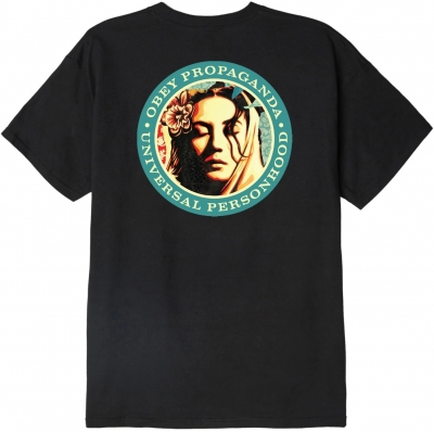 OBEY Universal Person Tee, Black