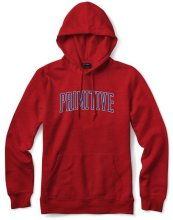 Primitive Collegiate Arch Outline Hoodie, Red