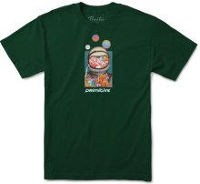 Primitive Contact Tee, Forest Green
