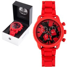 RDS Armstrong Watch, Red