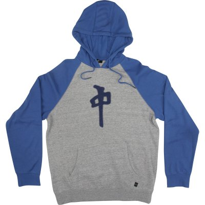 RDS Chung Chenille Hoodie, Heather Grey Royal