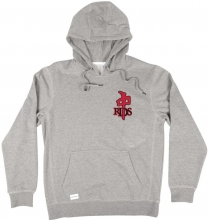 RDS Mini OG Chenille Hoodie, Athletic Heather Red