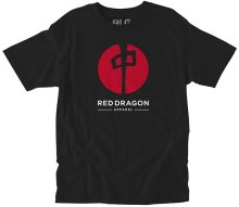 RDS Point Tee, Black Red White