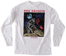 RDS Space Force LS Tee, White