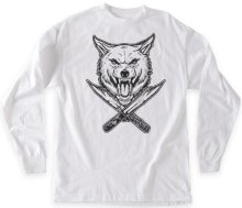 RDS x Wolfknives Wolf LS Tee, White
