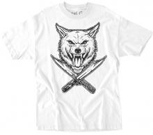 RDS x Wolfknives Wolf Tee, White