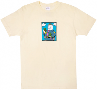 RIPNDIP Confiscated Tee, Natural