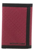 DC Shoes Ripstop Wallet, red
